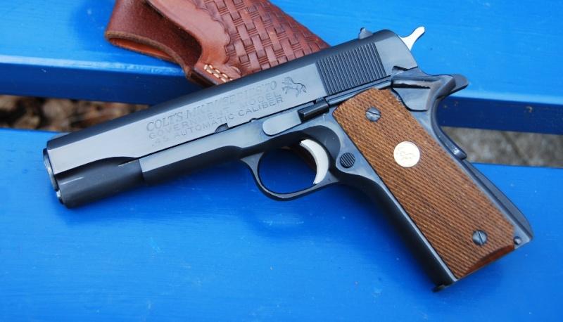 Prix d'un Colt 1911 MK IV série 80. Gauche13