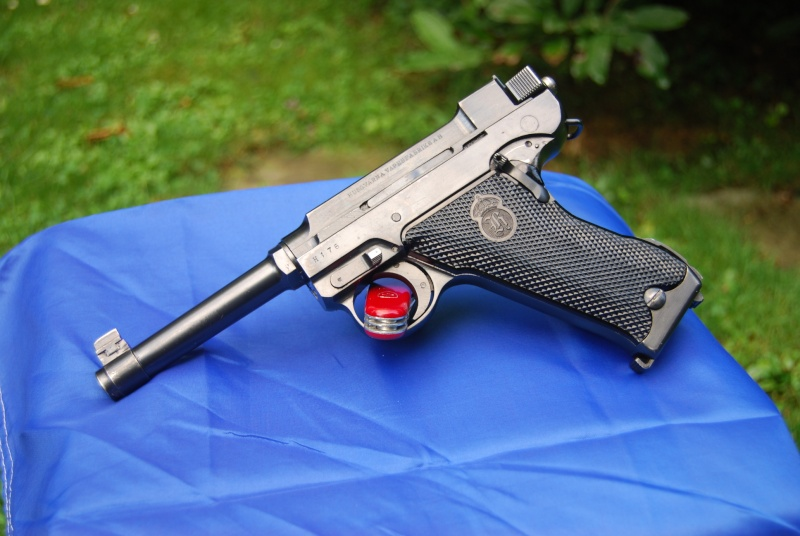 Pistolet armée Suisse A.D. 1941 Lathi-12