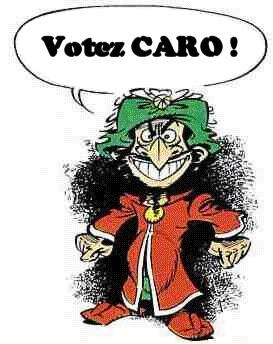 PROCLAMATION DES RESULTATS DE L'ELECTION Iznoca10