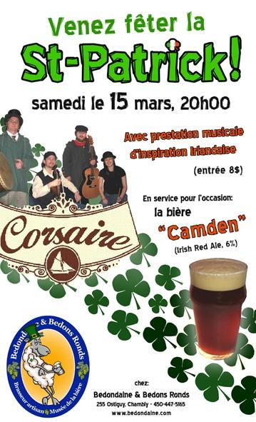La Saint-Patrick dans nos micros et bistros-brasseries !! St-pat10