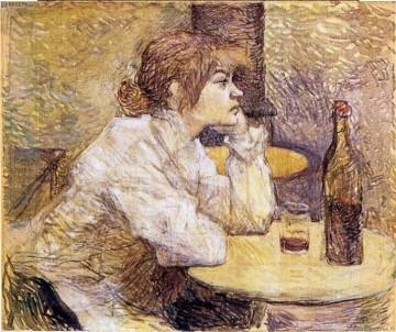 Devant le verre Degas110