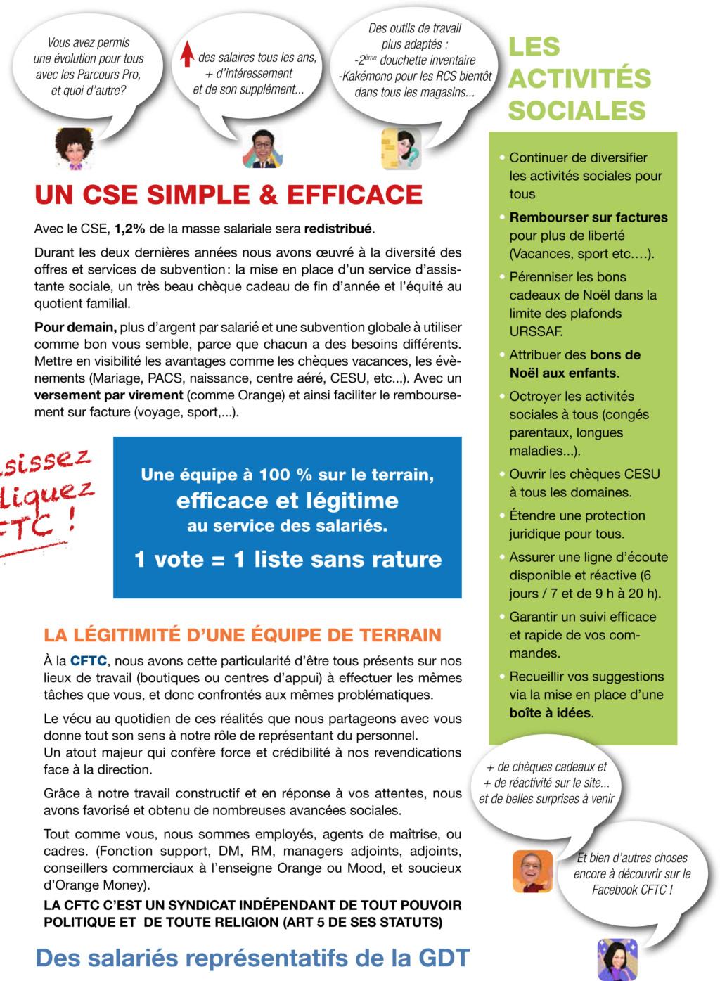 Elections CSE Générale de Téléphone,1er tour du 04 novembre (à partir de 10H00 ) au 12 novembre 2019 (jusqu'à 12H00). P310