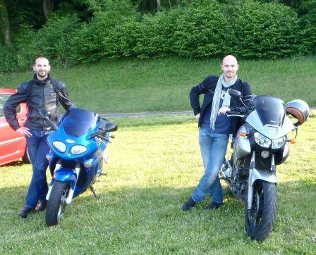 Une excursion en moto pleine de solidarité Presen10