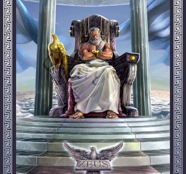 MYTHOLOGIE, CONTES ET LEGENDES... - Page 4 Zeus10