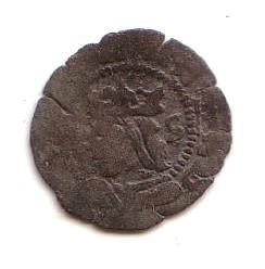 2 Dineros de Juana y Carlos I (Aragon, 1516-1555) Aragon11