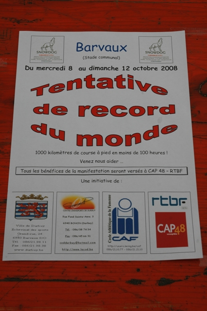 tentative record monde 1000 km du 8 au 12 octobre 2008 Record14