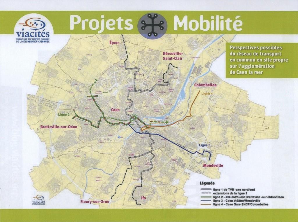 Ligne 2 de TCSP : Bretteville-sur-Odon <> Caen Projet11