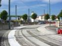 Travaux d'été 2008 sur le Tram. Virage10