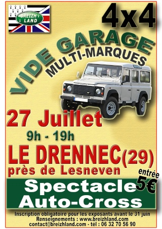 Vide garage 4X4 Videga12