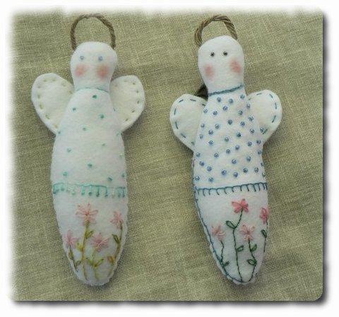 Porte ciseaux à broderie angélique Anges_10