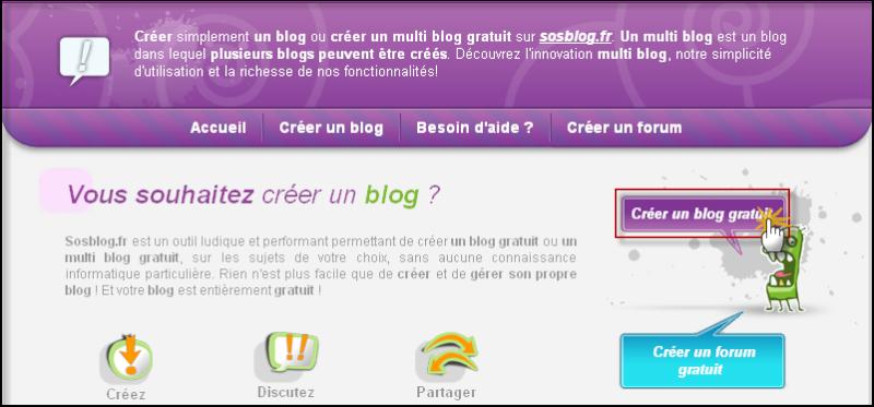 Créer son blog chez SosBlog 14-08-10