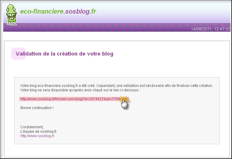 Créer son blog chez SosBlog 14-08-15