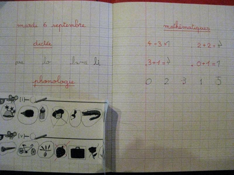 Cahier du jour  Cahier10