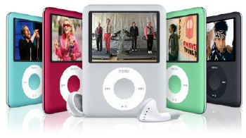 les differents types de Ipod nano Ipodna10