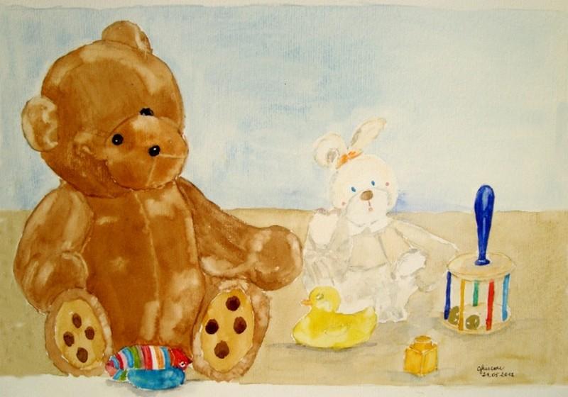 Les joujoux de bébé (aquarelle) Dsc09813
