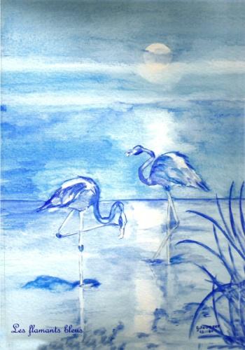 les flamants bleus Flaman11