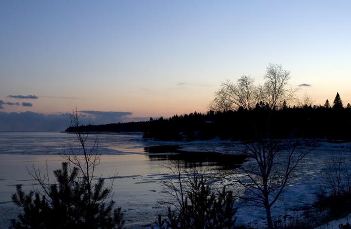 Lake Superior Sunset 7287zo10