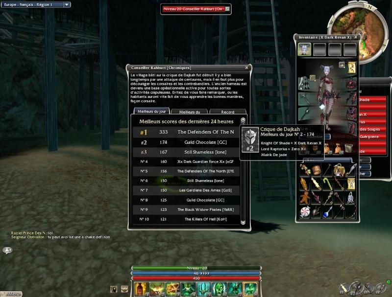 La guilde dans la crique sur Nightfall Gw28810