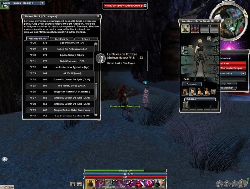La guilde dans la crique sur Nightfall Gw29510