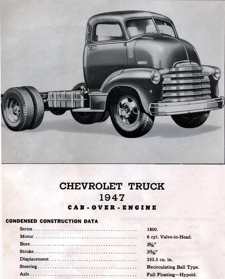 "CHEVY 1948 COE ""tracteur"" :  Terminé !!!!   (13 / 01 / 13) - Page 3 Chev_c12"