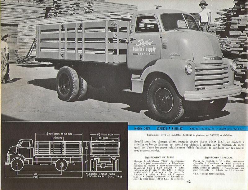 le CHEVY 1948 COE Chevro10