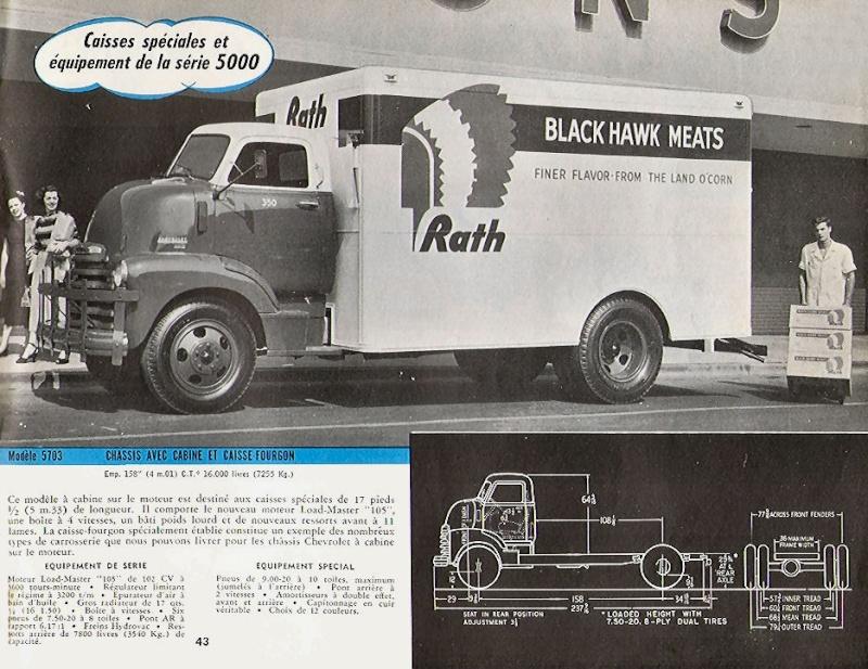 le CHEVY 1948 COE Chevro11