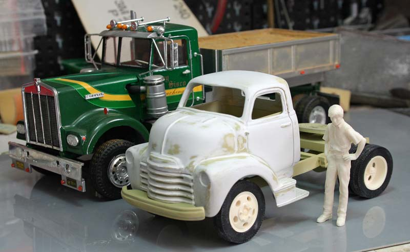 """CHEVY 1948 COE """"tracteur"""" :  Terminé !!!!   (13 / 01 / 13) - Page 4 Img_3238"""