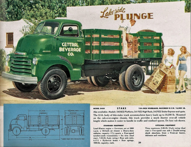 le CHEVY 1948 COE Ks000110
