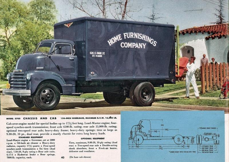 le CHEVY 1948 COE Ks000310