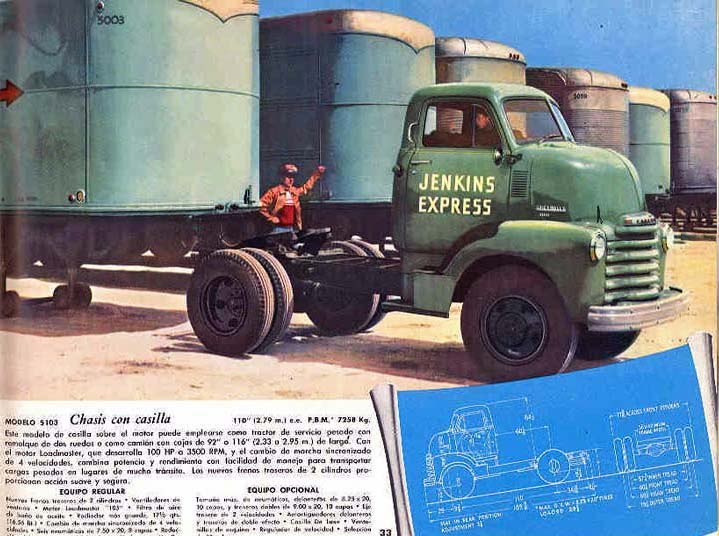 le CHEVY 1948 COE Wr031410