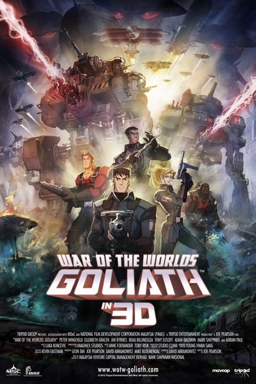 WAR OF THE WORLDS - GOLIATH - Tripod Entertainment - 2012 25262410