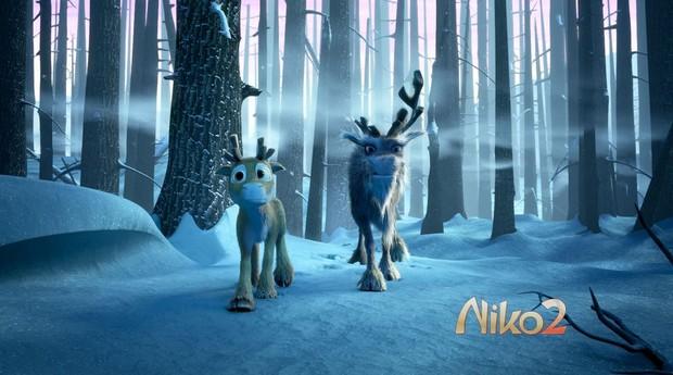 NIKO LE PETIT RENNE 2 - Finlande - 28 novembre 2012 -  55677310
