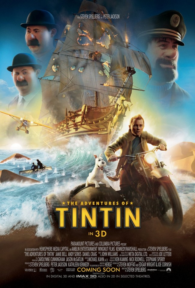 TINTIN, SECRET OF THE UNICORN - 23 octobre 2011 - Advent10