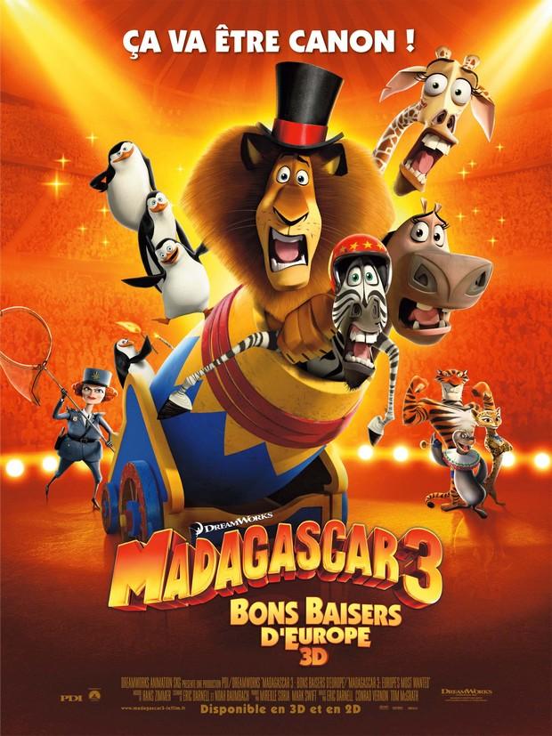 MADAGASCAR 3 - DreamWorks - le 8 juin 2012 - Affich13