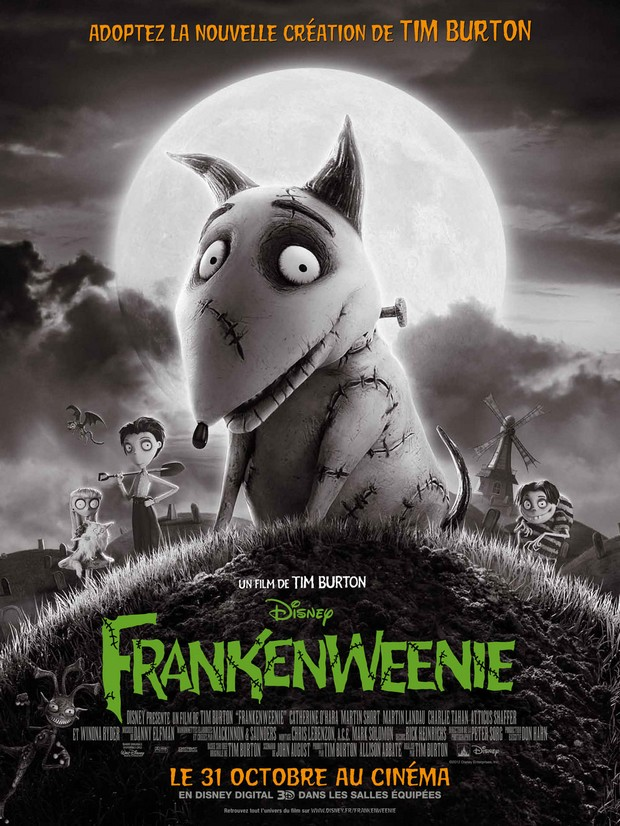 FRANKENWEENIE - Tim Burton - Disney - 05 octobre 2012 - Franke18
