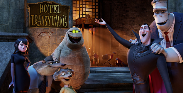 HOTEL TRANSYLVANIA - Sony Pictures - le 13 février 2013 - Hotelt10