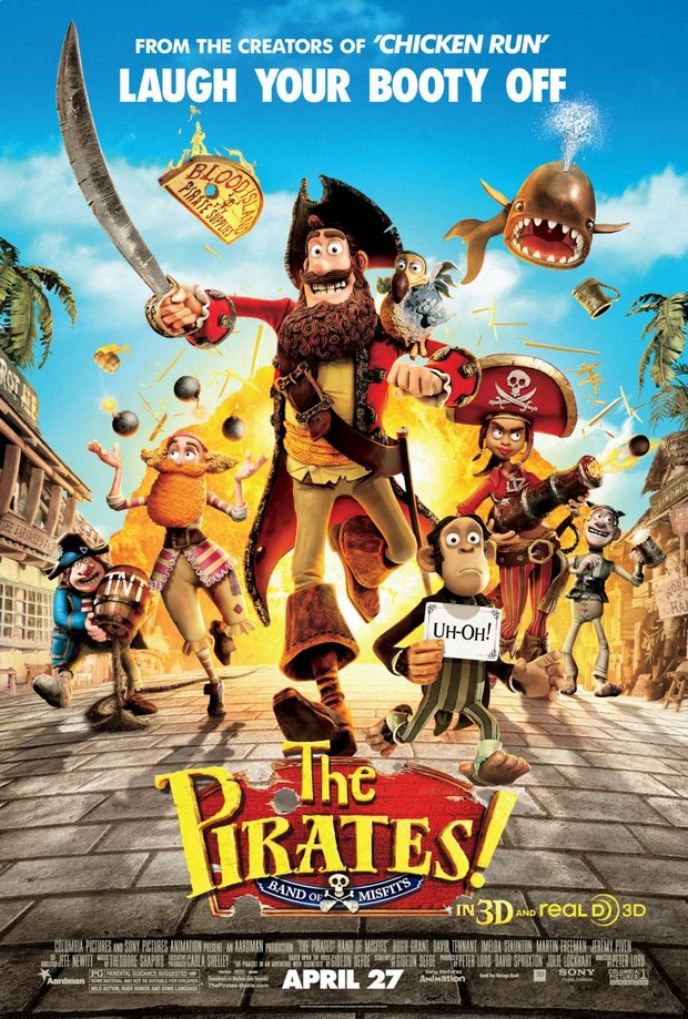 THE PIRATES - Aardman Animation/Sony Pictures - Avril 2012 - Hr_the10