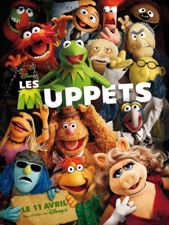 THE MUPPETS - THE MOVIE - Walt Disney - 23 novembre 2011 Les_mu10