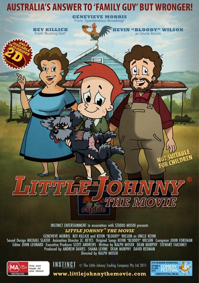 LITTLE JOHNNY THE MOVIE - Australie - DVD - 2011 Little17