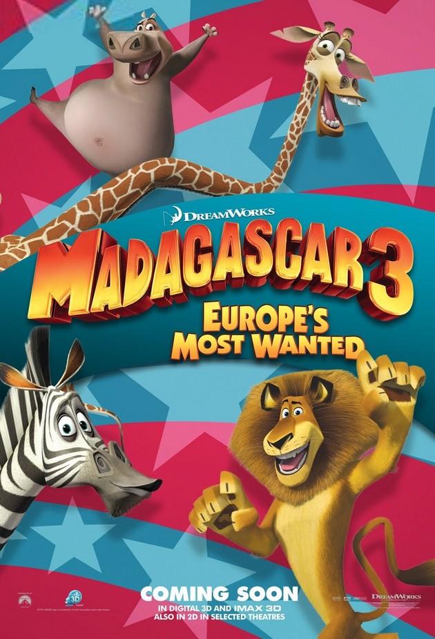 MADAGASCAR 3 - DreamWorks - le 8 juin 2012 - Madaga11
