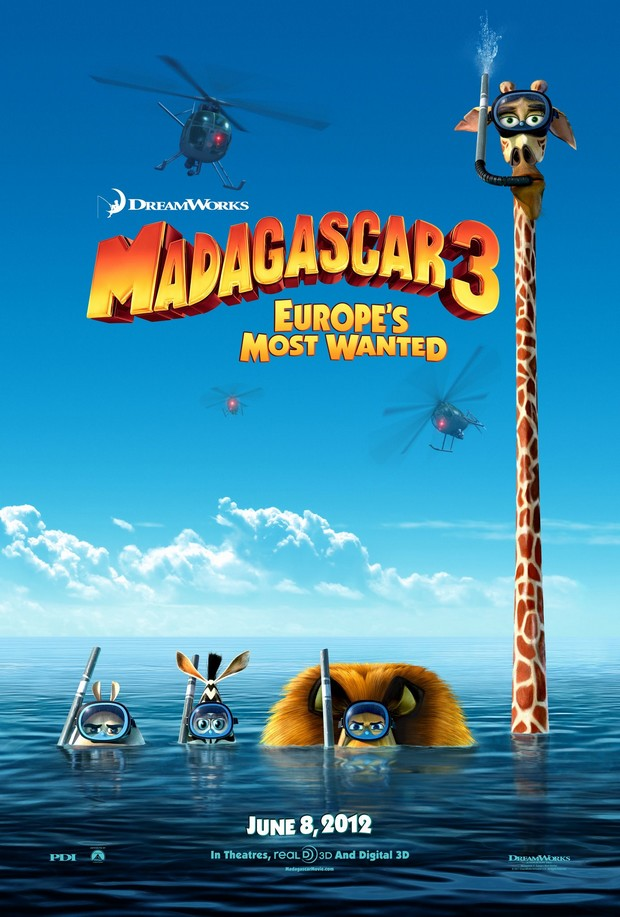 MADAGASCAR 3 - DreamWorks - le 8 juin 2012 - Madaga12