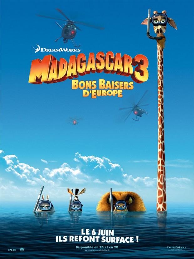 MADAGASCAR 3 - DreamWorks - le 8 juin 2012 - Madaga15