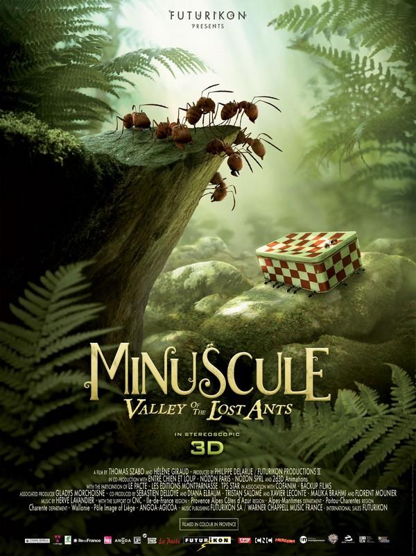 MINUSCULE, LE FILM - Studio Futurikon - 29 janvier 2014 Minusc16