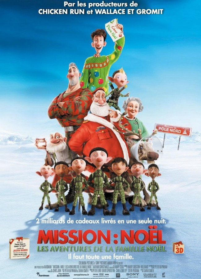 ARTHUR CHRISTMAS - Aardman/Sony - 23 Novembre 2011 - Missio14