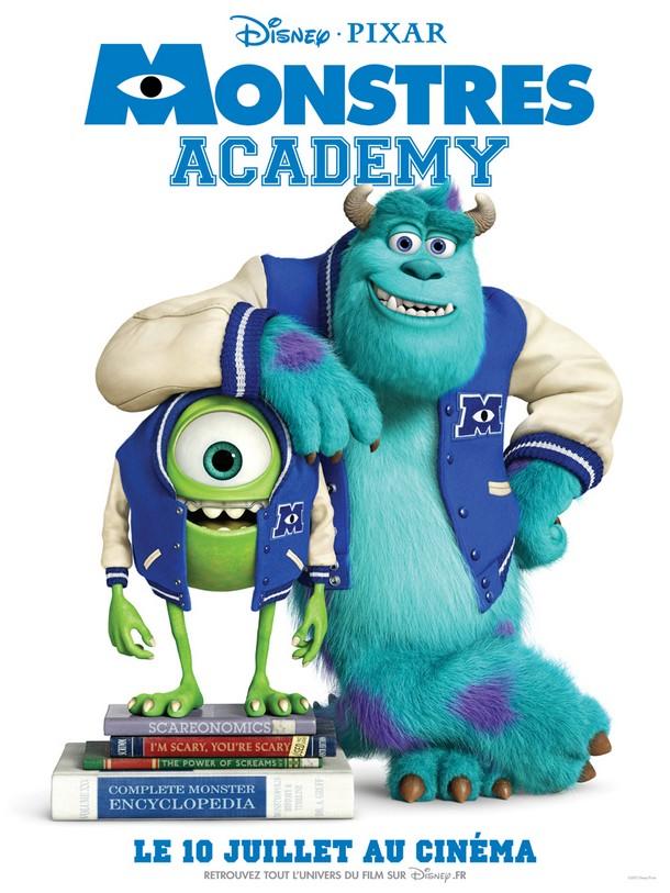MONSTRES ACADEMY - Disney/Pixar - FR : 10 Juillet 2013 Monstr11