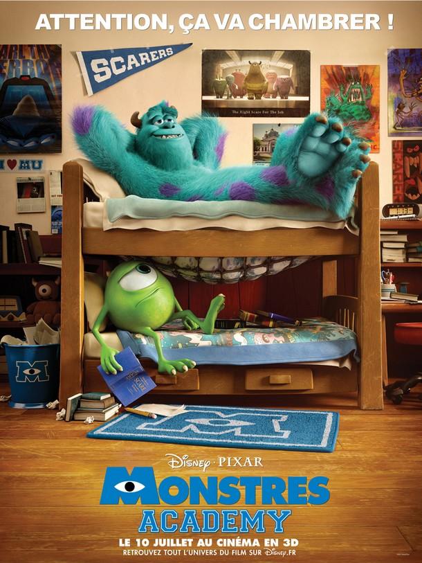 MONSTRES ACADEMY - Disney/Pixar - FR : 10 Juillet 2013 Monstr12