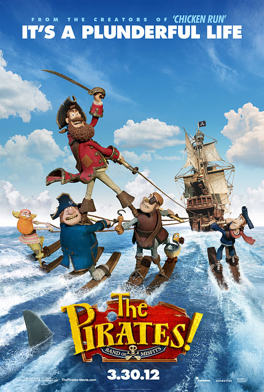 THE PIRATES - Aardman Animation/Sony Pictures - Avril 2012 - Poster10