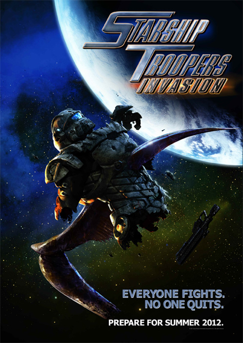 STARSHIP TROOPERS INVASION - Sony Pictures - été 2012 Poster11