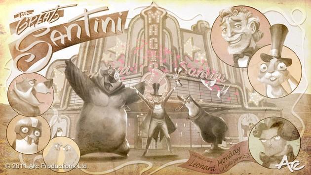 THE GREAT RABBITINI - Arc Productions - En développement Rabbit10