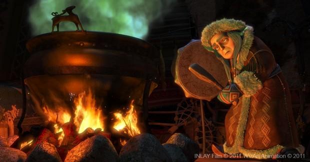 THE SNOW QUEEN - 3D - Wizart Animation - 31 décembre 2012 Snowqu12